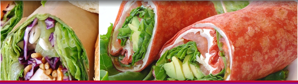 Fresh Wraps - Boxed Lunches, Catering and Events in Sacramento| Lunch Box Express